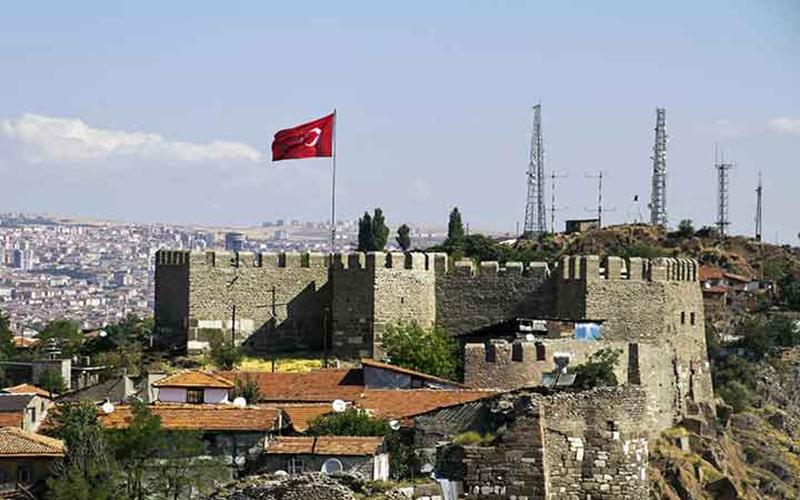 قلعه آنکار بنایی هزار ساله در ترکیه
