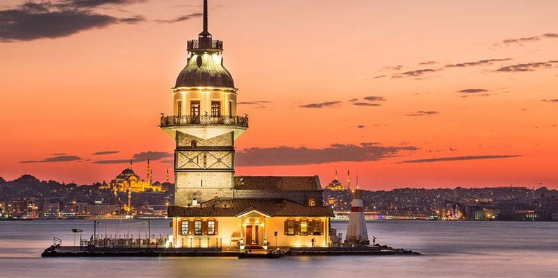 زیبای برج دختر در استانبول
