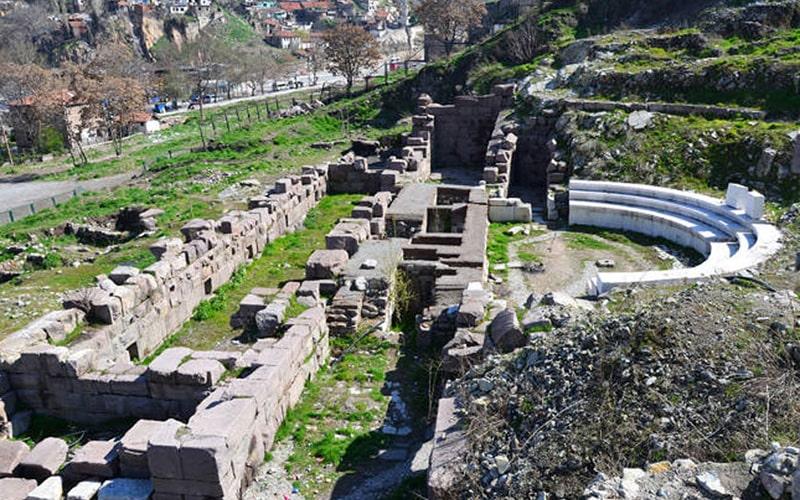 تئاتر رومی آنکارا، اثری بجا مانده از یونان باستان در آنکارا