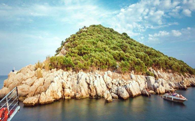 مکانهای دیدنی شهر آنتالیا-جزیره موش