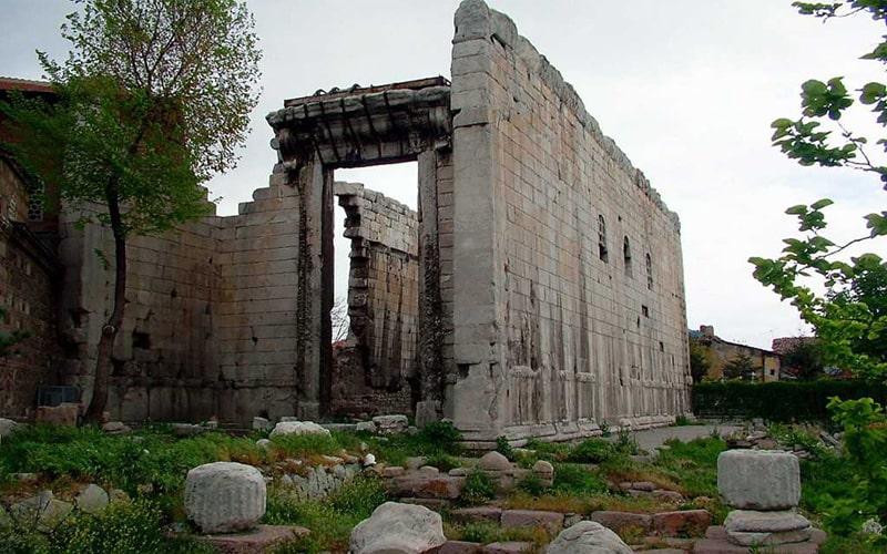 معبد آگوستوس روم در آنکارا ترکیه