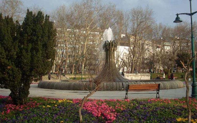 پارک تقسیم در شهر استانبول