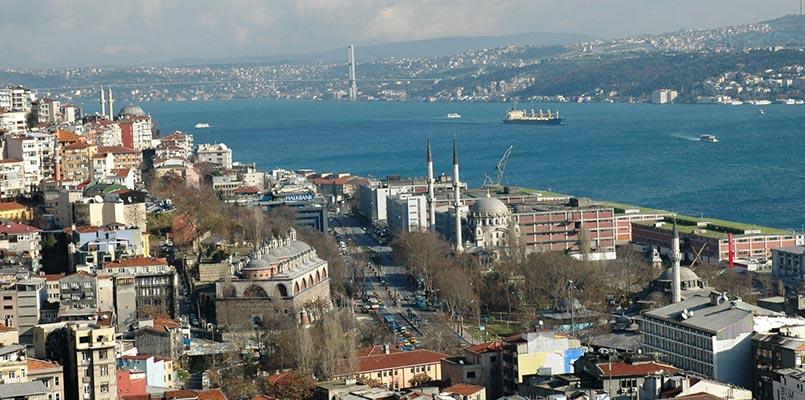 بی اغلو بهترین منطقه در استانبول