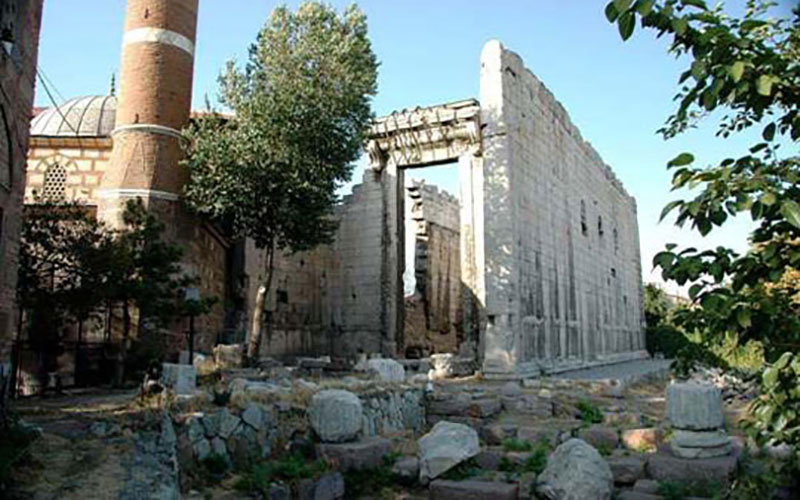 معبد آگستوس روم آنکارا
