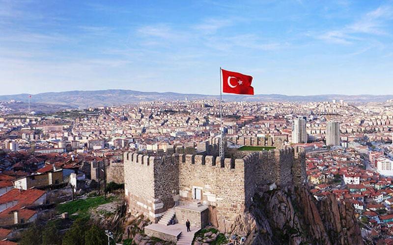 قلعه انکارا ترکیه