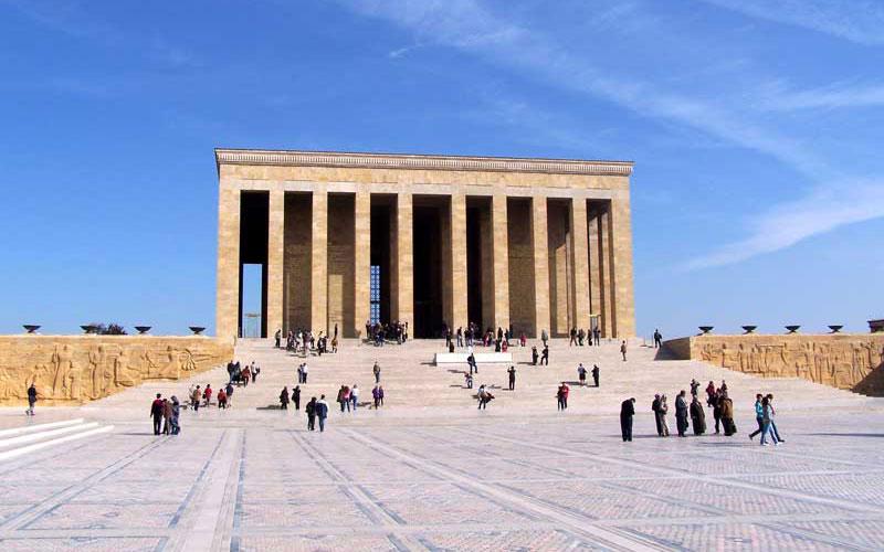 مقبره کمال مصطفی آتاتورک در آنکارا
