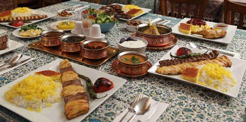 غذاهای لذیذ رستوران ریحون استانبول