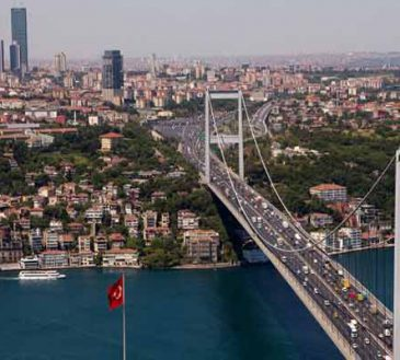 استانبول بزرگترین شهر ترکیه