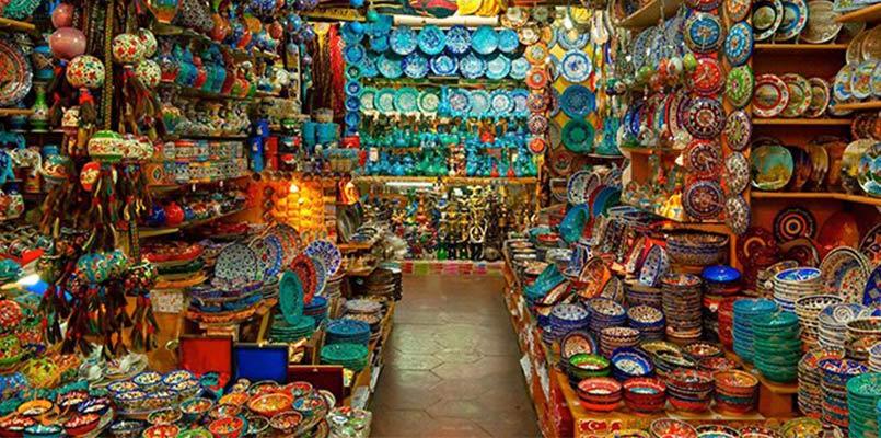 بازارهای عمده لباس در استانبول