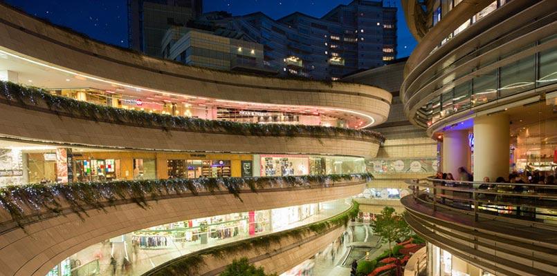 مسیرهای مرکز خرید کانیون