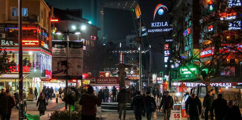 مرکز خرید کیزیلا در آنکارا