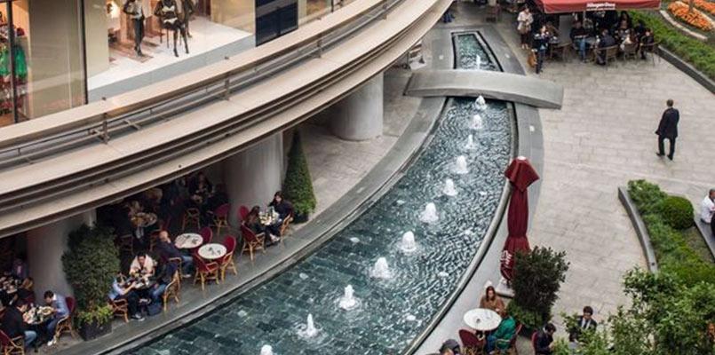 رستوران های مرکز خرید کانیون