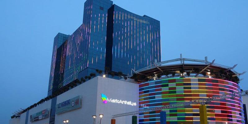 مرکز خرید تراسیتی شهر آنتالیا