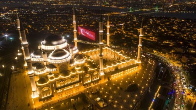 مسجد چاملیجا، بزرگترین مسجد استانبول