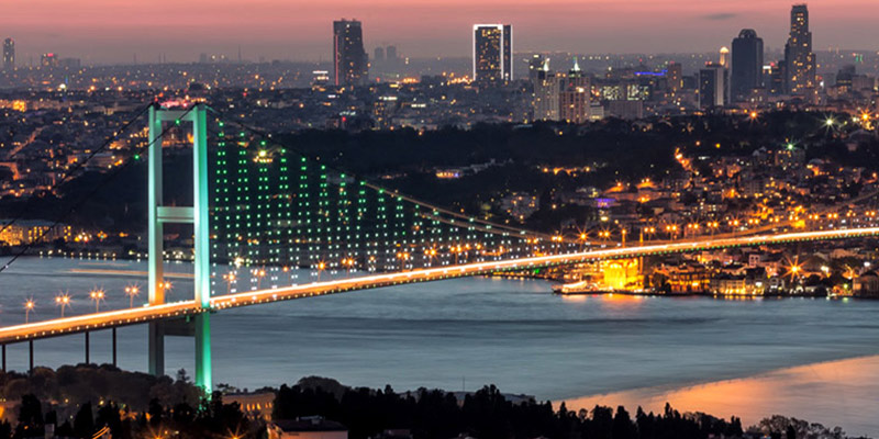 شهر استانبول بزرگترین شهر ترکیه
