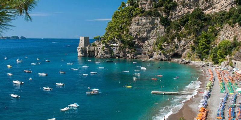 کمر زیباترین و بهترین ساحل آنتالیا