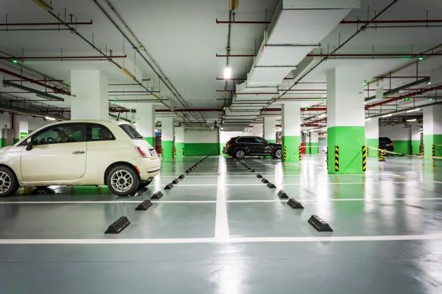 پارکینگ مرکز خرید آروما