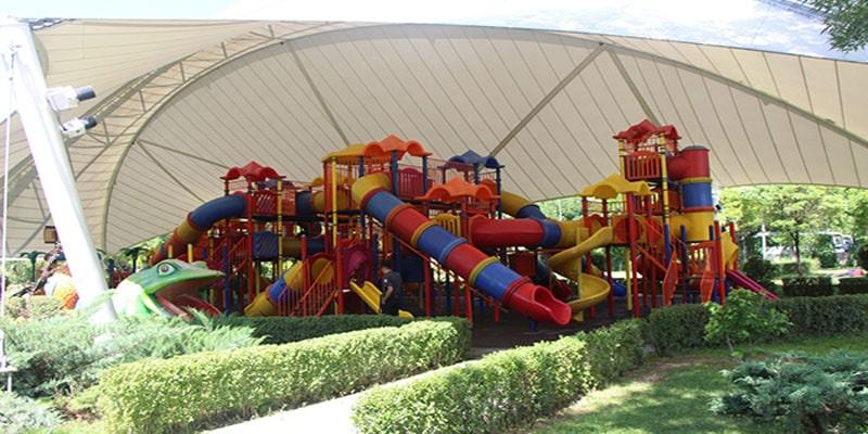 وسایل و امکانات تفریحی پارک گنچلیک