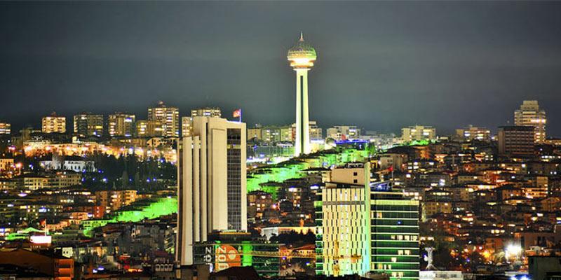 شهر آنکارا پایتخت ترکیه