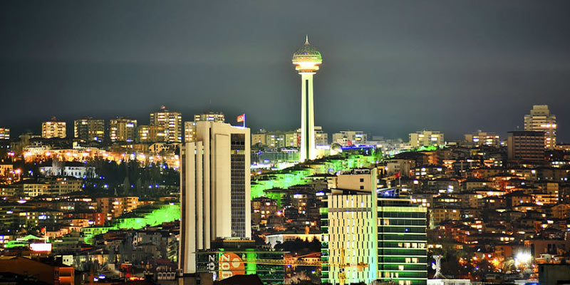شهرآنکارای ترکیه