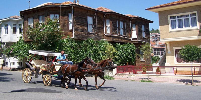 سفر به استانبول در جزایر نه گانه پرنس