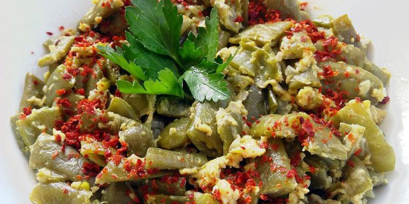 لوبیا کبابی بهترین غذا بدون گوشت