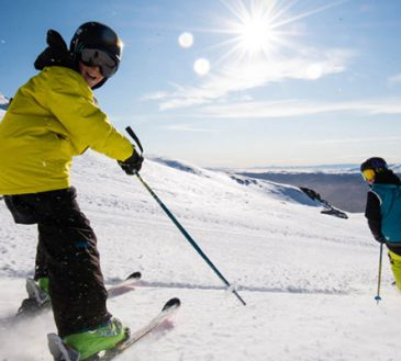 اسکی در کوه الما