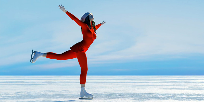 پاتیناژ یا رقص روی یخ