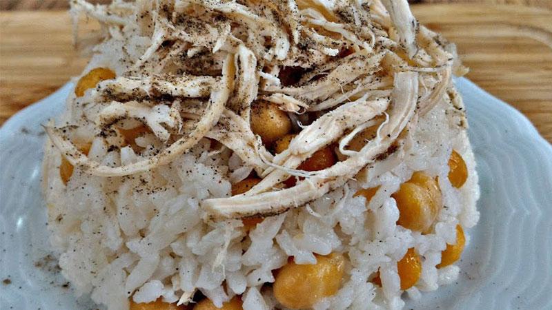 نخود پلوی ترکی یکی از بهترین انواع پلوهای ترکیه