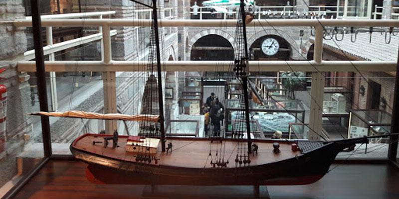 نمایی از موزه صنعتی آنکارا
