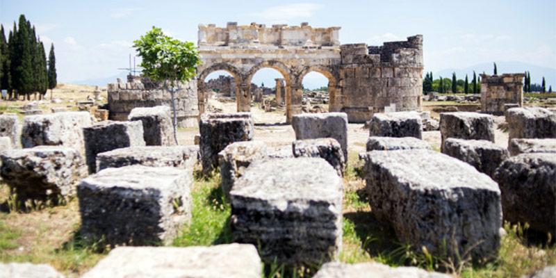 اولوس آنکارا ، آثار باستانی ترکیه