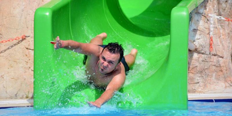 مهیج ترین تفریح در پارک آبی ددمان آنتالیا