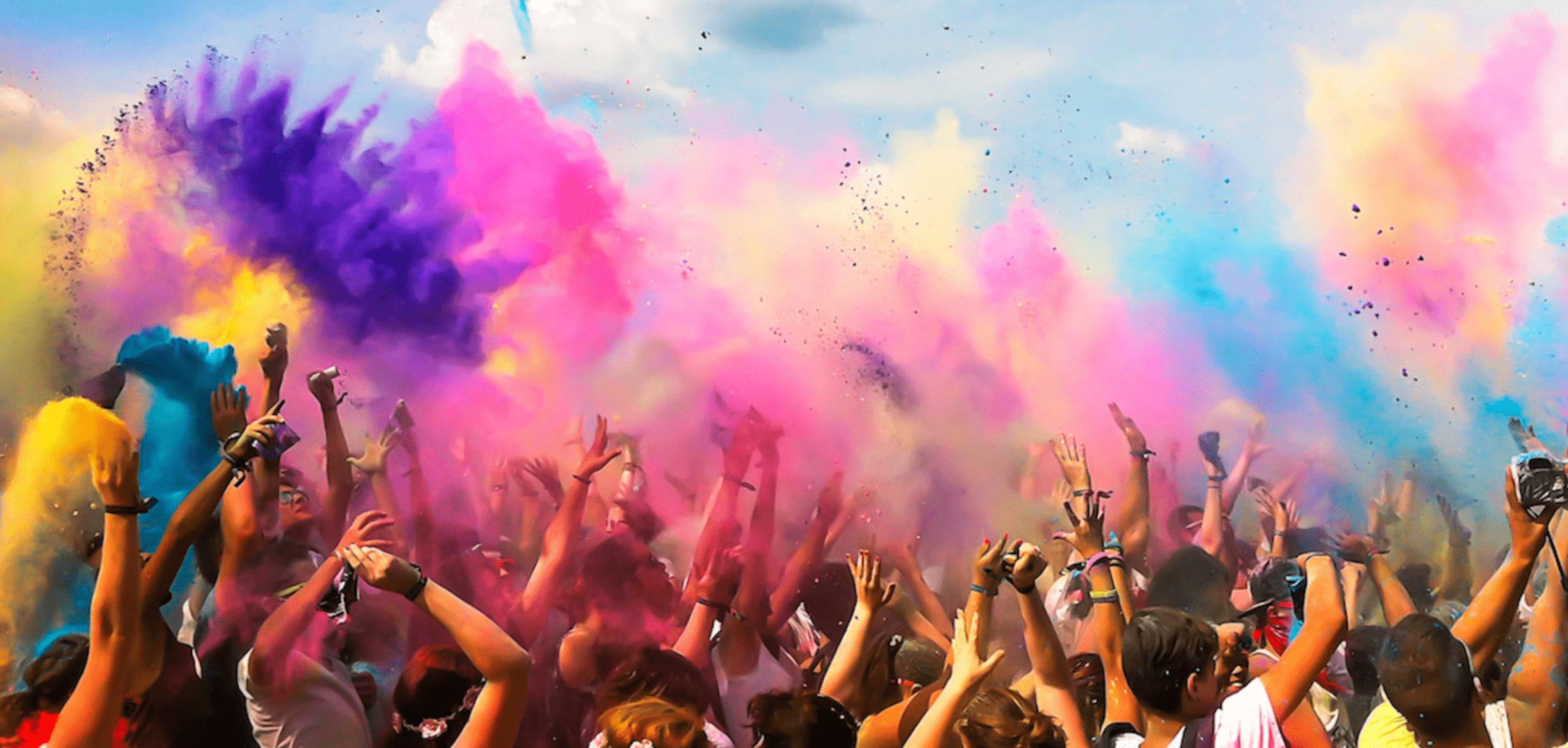 محل برگزاری فستیوال رنگ آنتالیا