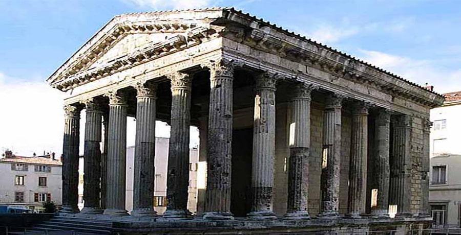 معبد آگوستوس روم در آنکارای ترکیه