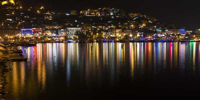 سواحل آنتالیا، بهترین شب گردی در آنتالیا