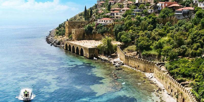 جاذبه های طبیعی در دهکده چیرالی ترکیه