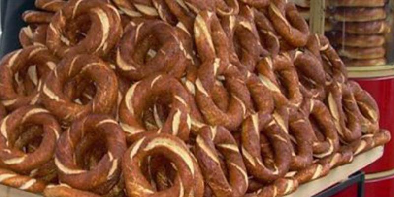 طرز تهیه نان سمیت ترکیه