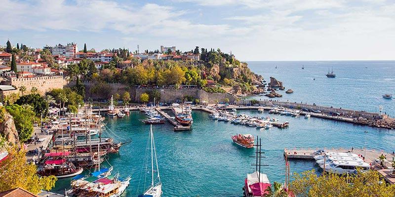 آنتالیا محبوب ترین شهر ترکیه