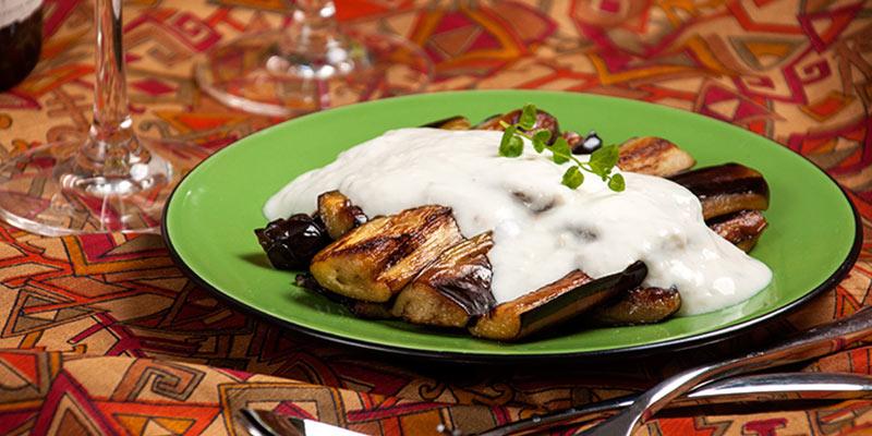 غذاهای ترکیه ای با بادمجان