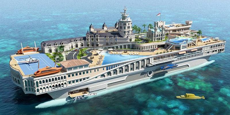 کشتی تفریحی آنتالیا٬ بهترین تفریح در ترکیه