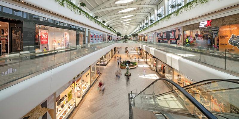مرکز خرید چند طبقه آنتالیا