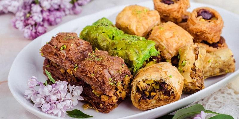 معرفی انواع شیرینی های های ترکیه
