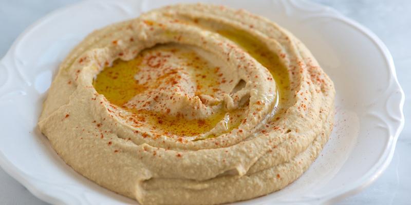 هوموس از بهترین پیش غذاهای ترکیه ای