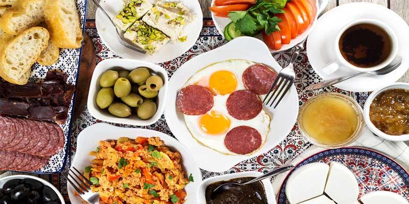 معرفی بهترین صبحانه های ترکیه ای