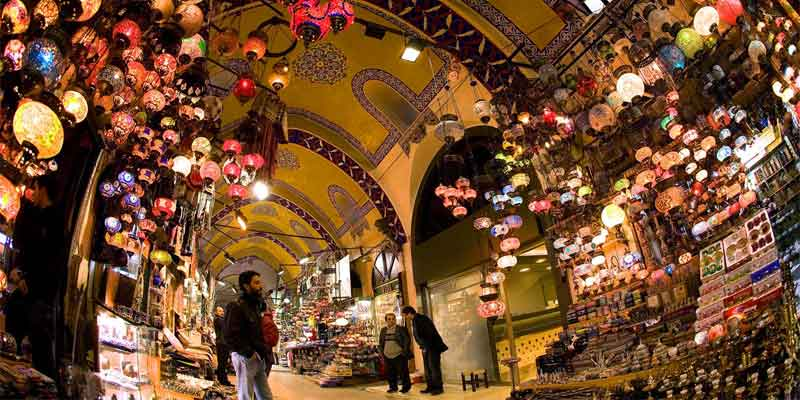 معروف ترین بازار سرپوشیده سنتی آنتالیا