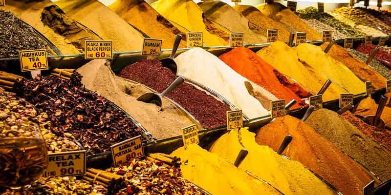 معروف ترین بازار ادویه آنتالیا