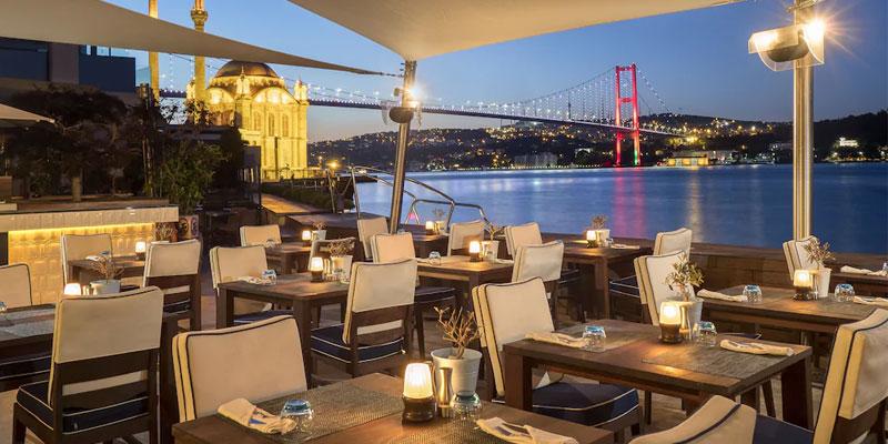 کافه رستوران های هتل رادیسون شیشلی استانبول