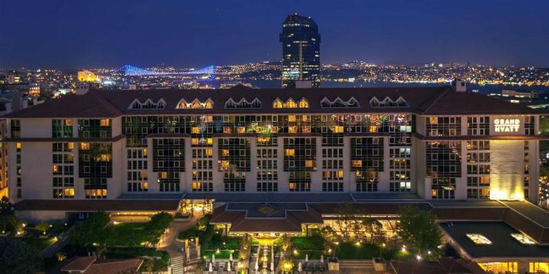 هتل گرند حیات استانبول کجاست