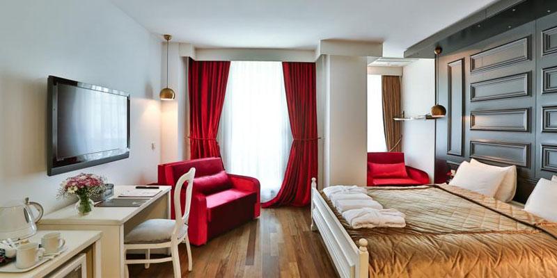 اتاق های مخصوص زوج در هتل میلینیوم استانبول