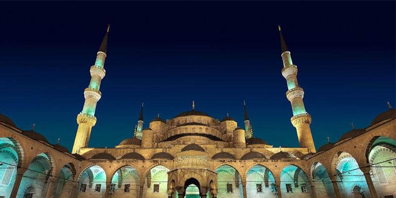 مسجد آبی استانبول زیباترین مسجد استانبول